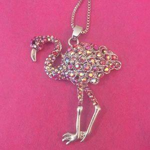 Lovely flamingo necklace 🥰